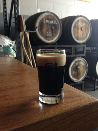 Urban Oyster Tours : More Cowbell Milk Stout