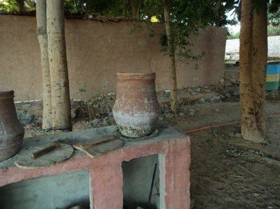 Eskaleh Nubian Ecolodge: Water anyone?