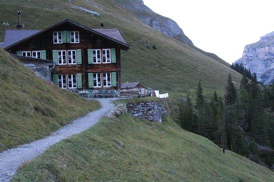Berggasthaus Obersteinberg: Oberstenberg-shows the slope
