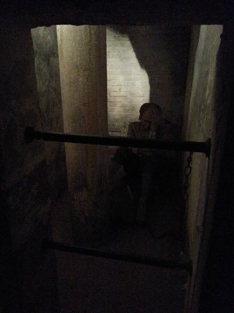 National Justice Museum: Model of man in cell