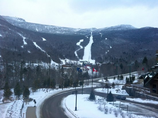 Stowe Mountain Lodge: View from room.