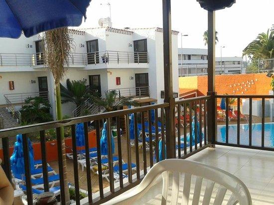 Casas Pepe : balkon hoekappartement