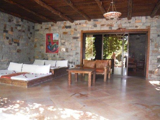 Kuriftu Resort : Veranda de la chambre