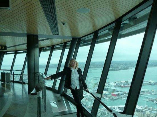 Sky Tower : смотровая площадка
