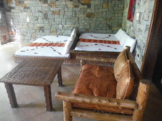 Kuriftu Resort : Coin repos , veranda chambre
