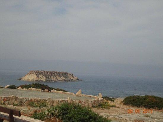 Tombe des rois : открывающийся вид на бухту