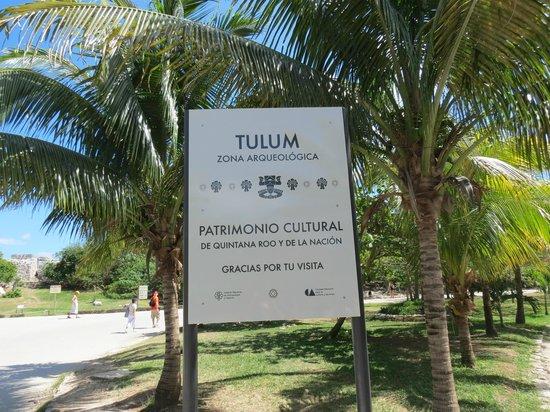 Tulum Avenue: Zona arqueologica Tulum