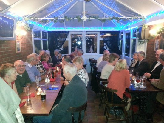 An evening raising money for the Christmas lights in Rayleigh