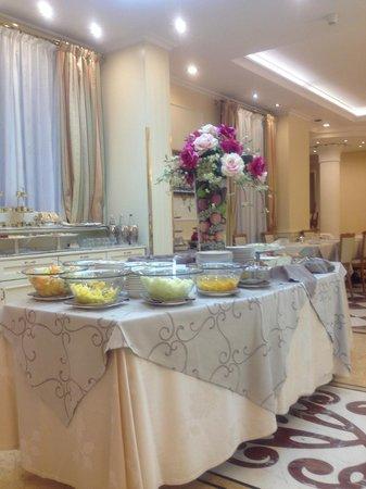 Andreola Hotel: Breakfast Area