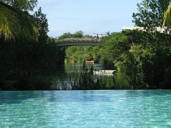 Rosewood Mayakoba : From inland pool area