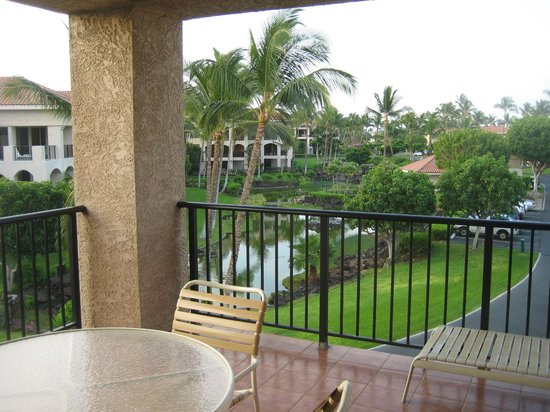 Aston Shores at Waikoloa : View from Balcony