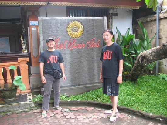 Hotel Sinar Bali: bersama teman