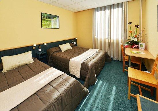 Hotel du Midi : Chambre twin