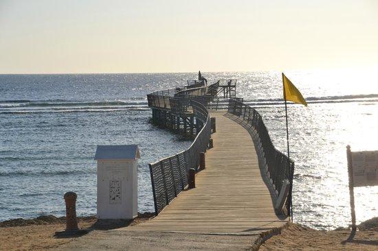 Siva Port Ghalib: пирс