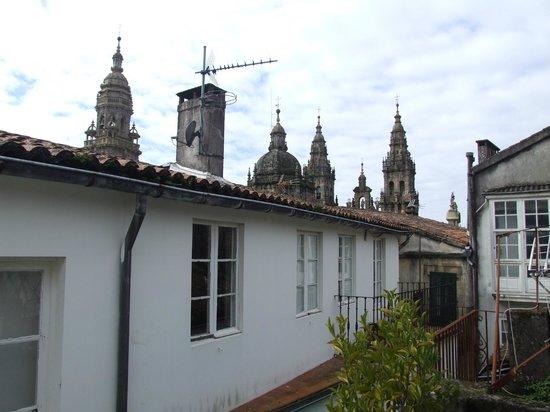 Albergue Azabache: Vista desde el último piso