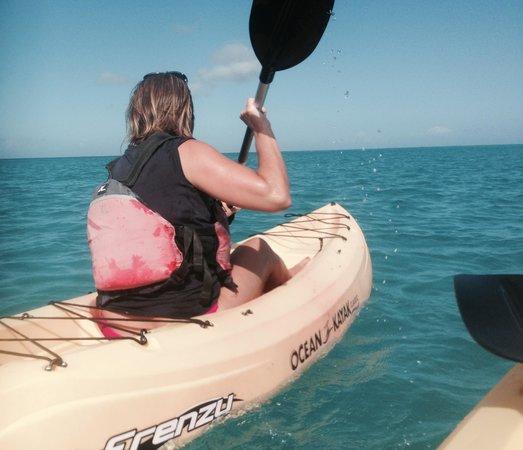 Club Med Turkoise, Turks & Caicos : kayak