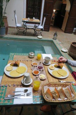Riad Dar Elma: Petit déjeuner