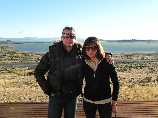 Hosteria La Estepa: Vista sul lago