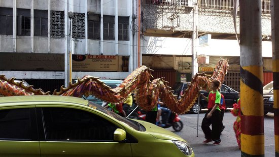Chinatown: Chinese dragon
