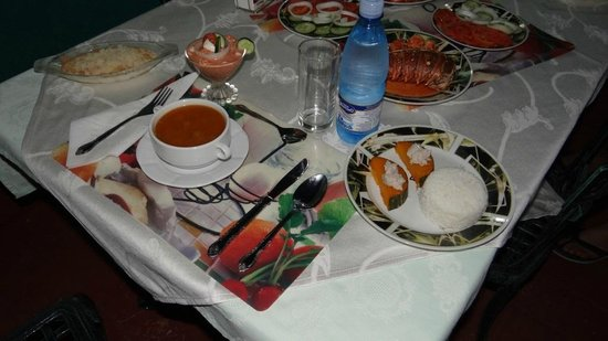 Casa Anay & Efrain: cena