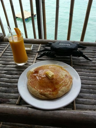 Spider House Resort: Delicious breakfast