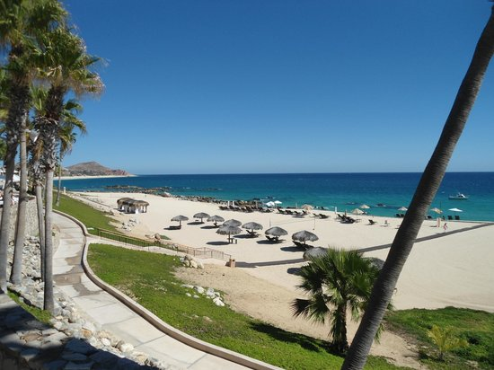 Hilton Los Cabos Beach & Golf Resort: Beach view from whale watching terrace