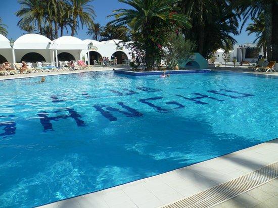 Sangho Club Zarzis : piscine chauffée