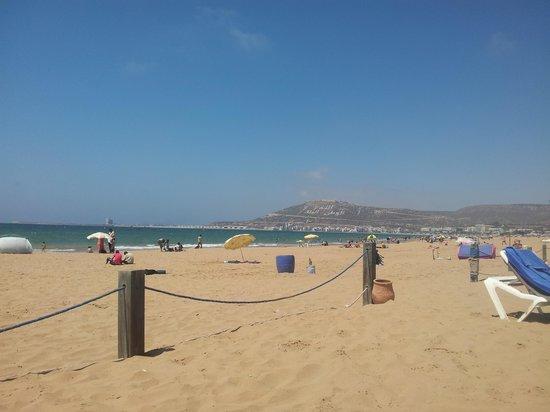 Hotel Riu Palace Tikida Agadir: Agadir beach