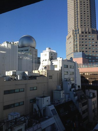 Shibuya Granbell Hotel : view from the room