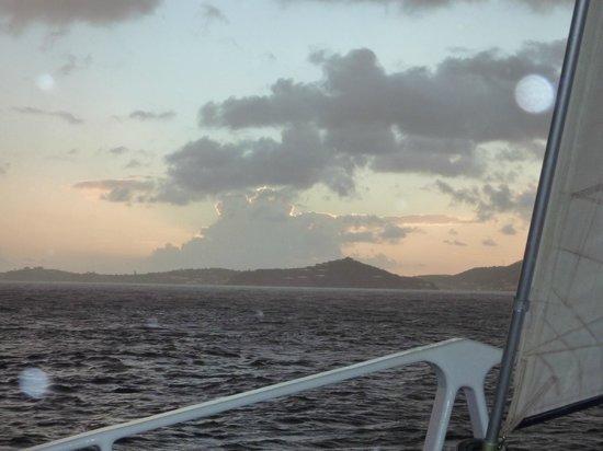Cruz Bay Watersports: Sunset Cruise on catamaran