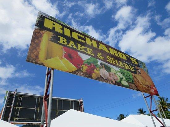 Richard's Shark and Bake: EAT AT RICHARDS