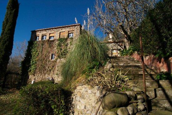Die Treppe Zum Garten Picture Of Mas Roca Del Fluvia Pontos