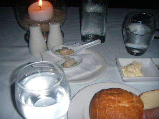 Far Horizons Restaurant : piccolo aperitivo di benvenuto