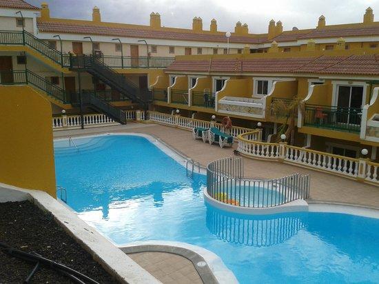 Caleta Garden : from our balcony