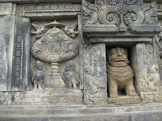 Prambanan-Tempelanlage: レリーフ