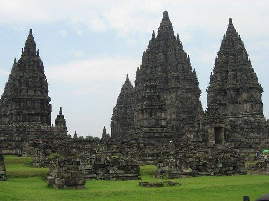 Prambanan-Tempelanlage: 瓦礫