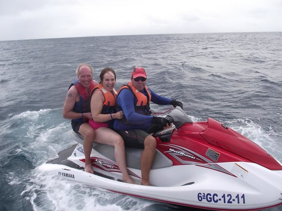 Catlanza : the jet-ski ride, great fun!