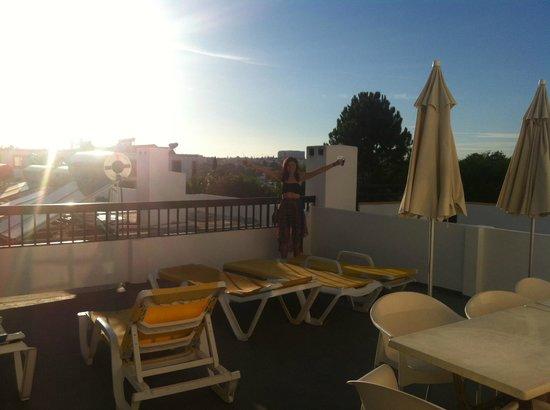 Alfagar Aldeamento Turistíco: balcony!!