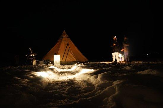 Treehotel: Ice Dining