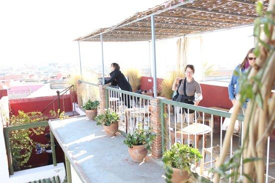 Maison de la Photographie de Marrakech : rooftop cafe