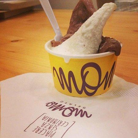 meu Momo gelato!