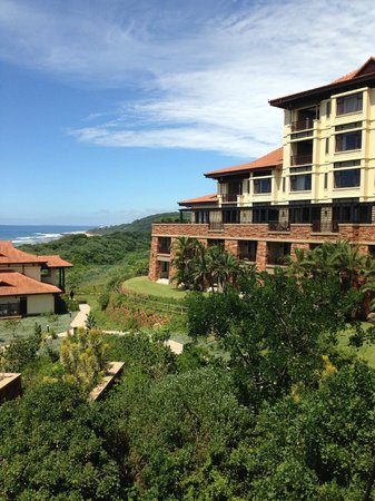 Fairmont Zimbali Resort: View from the pool