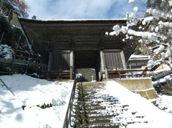 Risshaku-ji Temple: 立石寺05仁王門