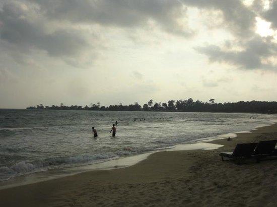 Sokha Beach Resort: ホテルのプライベートビーチ