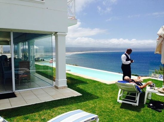 The Plettenberg Hotel : the pool in the blue wing