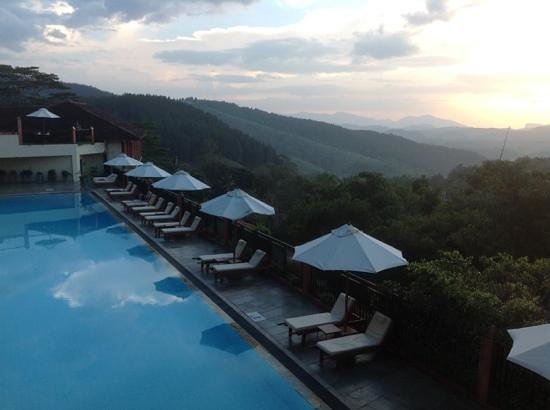 Amaya Hills: scenic views from recption