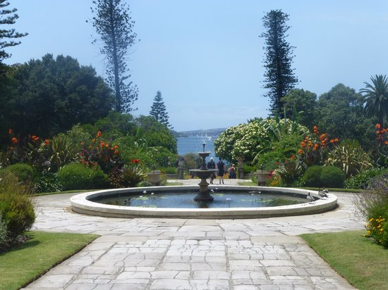 Government House: View of the harbour