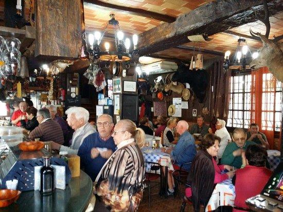 Bar La Gamba de Oro: Un lunes