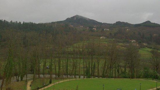 Hotel Balneario Areatza: Vistas desde la hab.