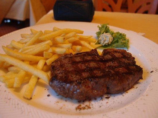 Hotel Seehof: 半食宿的晚餐